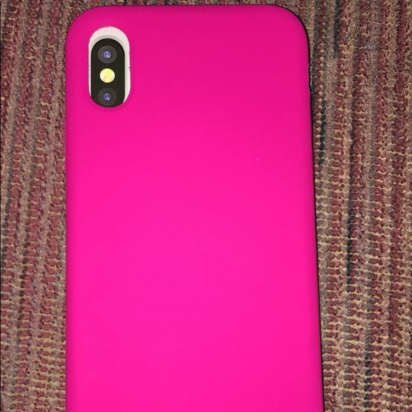 size 40 97e64 46c17 Hot pink Iphone X case